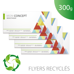 Flyer 300g recyclé