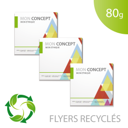 Flyer 80g recyclé