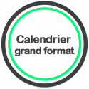 Calendrier grand format